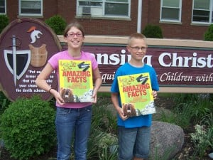 Lansing Christian School fifth-graders receive Citizenship Award