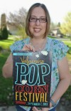 April Burford wins Popcorn Festival post contest