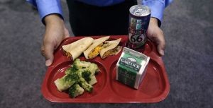 School officials try healthier cafeteria options