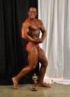 Former swimmer wins first bodybuilding competition