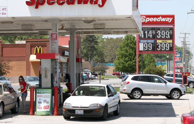Gas prices jump to nearly $4 a gallon