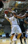 Valparaiso University's Bobby Capobianco scores
