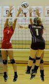 Crown Point's Meagan Fajman, Chesterton's Jennifer Williams