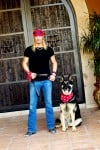Bret Michaels and Diesel