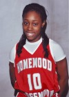 H-F basketball player Danielle Woolfolk