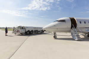 """Gary Jet Center earns """"Supplier of the Year"""" from Boeing"""