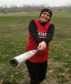 Calumet's Alvarado is swinging a very big bat