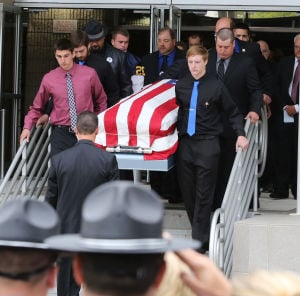 Slain officer remembered for leadership