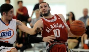 Wheeler grad Arambula continues to inspire as wheelcair basketball star