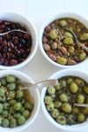 Up your olive game with these easy marinated party olives