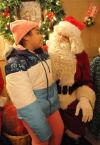 Santa hears wishes