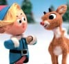 Hermey the Elf and Rudolph the Red-Nosed Reindeer from the 1964 TV Special