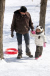 Winter fun at the Lake County Fairgrounds