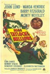 """Miss Tatlock's Millions"" Film Poster from 1948"