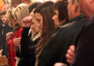 Serbian Orthodox Christians recall the birth of Jesus with family, friends
