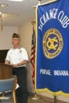 Portage Exchange Club welcomes VFW Commander Rex Lewis