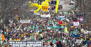 Region residents join March for Life in Washington