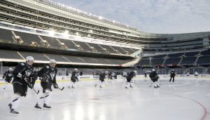 Hawks, Penguins give Soldier Field ice rave reviews