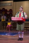 "Actor Frank Paul as Chip the Boy Scout Contestant in ""The 25th Annual Putnam County Spelling Bee"" at Theatre at the Center in Munster, Ind."