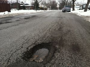Gallery: Potholes around the region