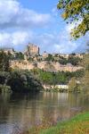 Beynac castle view