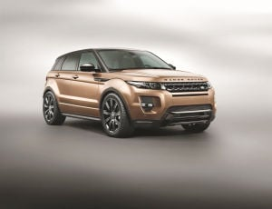 Evoque treks outside the box: Range Rover Evoque not an illusion