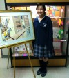 Students work hard in preparation for Art from the Heart event