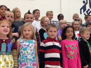 Grandparents enjoy quality time with kindergarteners