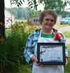 Claudia Geise receives ROSE Award