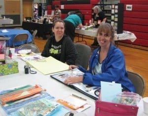 Church welcomes visitors for scrapbooking and Mass