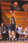 Purdue Calumet's Alex Starr attempts a 3-pointer Wednesday night against Olivet Nazarene.