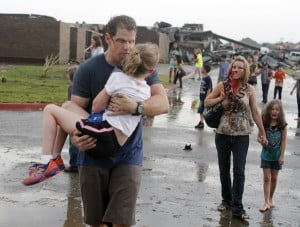 Huge tornado hits Oklahoma City suburb, kills 51  including at least 20 children