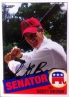 KEN KARRSON: Brown hopes to make green off trading card