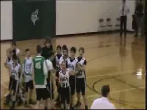 VIDEO: Young athlete scores big basket