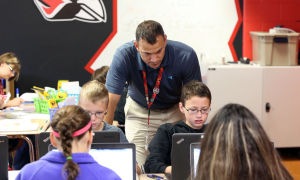 Willowcreek Middle School Braves flip over language arts