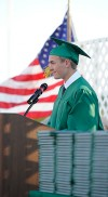 Twins serve as guest speakers at Valparaiso High School commencement ceremonies