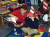 Reading Dr. Seuss to buddies