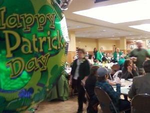 Raise a toast to St. Pat at church dinner