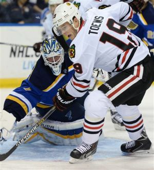Blackhawks lose second straight