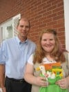 Danielle Weiler receives Girl Scout Gold Award