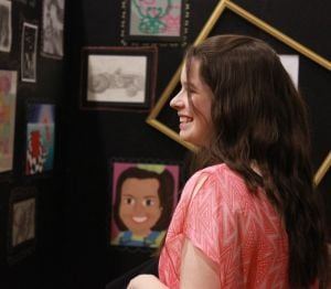 Creativity fills space at annual art show