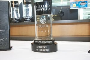 Schepel wins dealer of the year