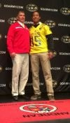 Josh Barajas honored by Andrean for U.S. Army All-American Bowl