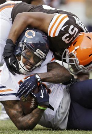 Gallery: Cutler returns; Bears beat Browns