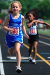 Young runners hit the track at AAU meet