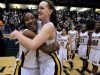 Marian Catholic seniors Melanie Ransom and Megan Walsh