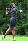 Marian Catholic girls golf team yelling 'four'