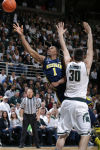Michigan hopes to rebound from 1st conference loss