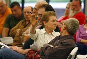 Anti-tax frustrations aired at Crown Point rally
