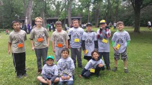 Scouts take part in day camp
